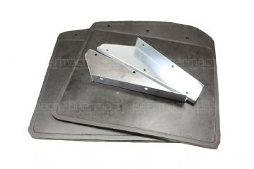 RTC9479 Mudflap Kit Front With Bracket Defender 90 110